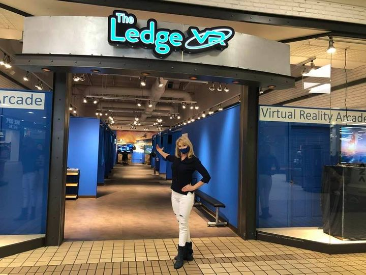Rebecca at the Ledge VR